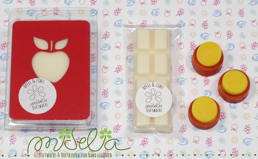 Duftwachs Apfel & Zimt